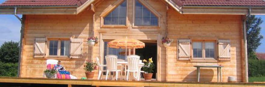 La construction du chalet en bois de Sandrine et David