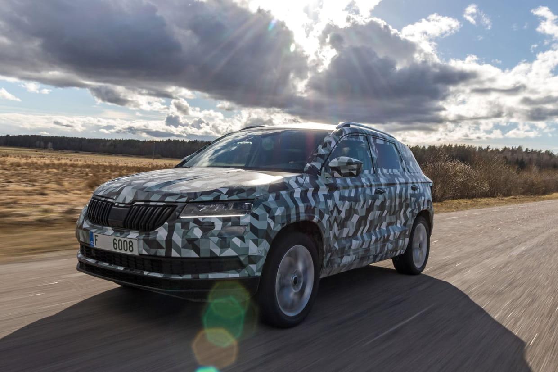 Infos et photos sur le nouveau SUV remplaçant du Yeti — Skoda Karoq