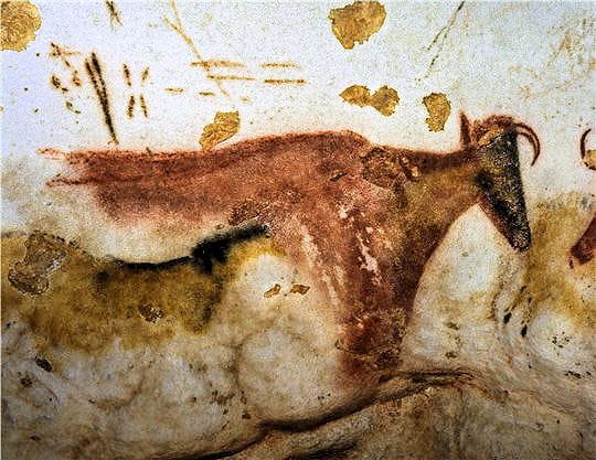 Vache à corne Lascaux