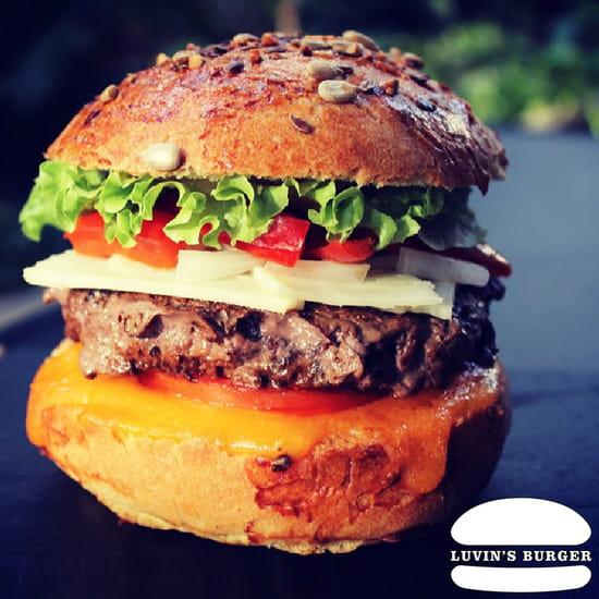 Plat : Luvin's Burger  - Burger – Le Catalan -   © Luvin's Burger