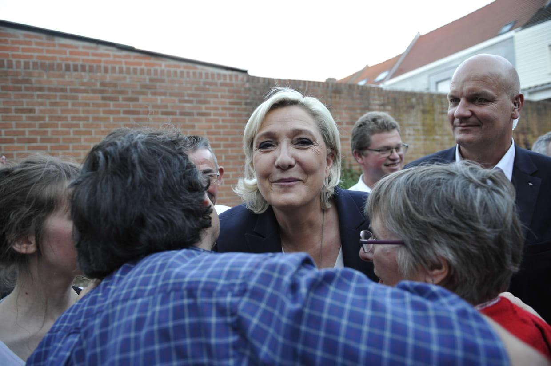 Marine Le Pen entre à l'Assemblée nationale