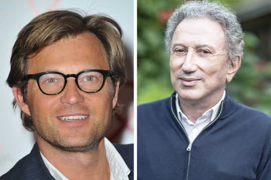"""Laurent Delahousse: Michel Drucker """"en avait gros sur le cœur"""""""