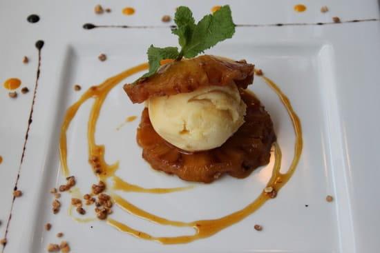Le Sorrento  - ananas rôti -