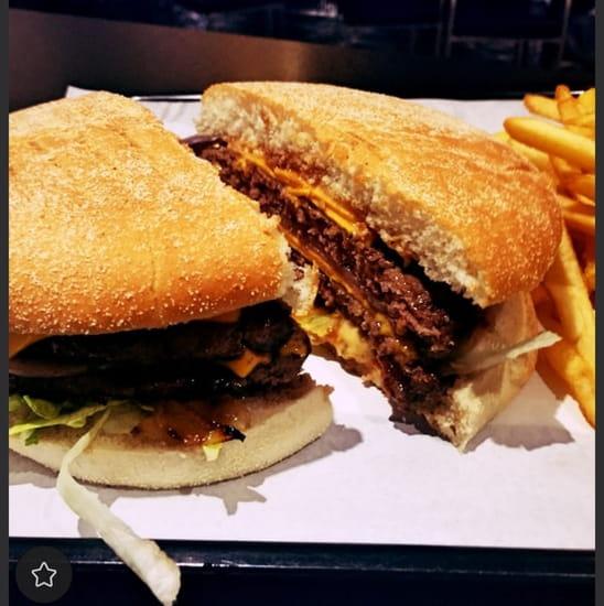 Restaurant : Mac-Hallal  - Le 360gr bacon Max cheddar  -