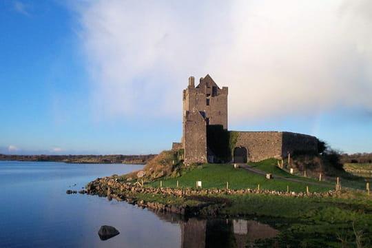 Un château perdu dans le comté de Galway