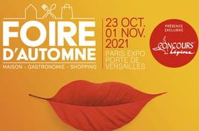 Foire d'Automne 2021: exposants, concours Lépine... Les infos