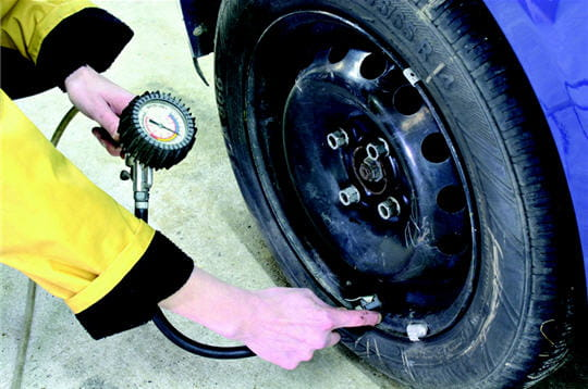 Gonflage des pneus