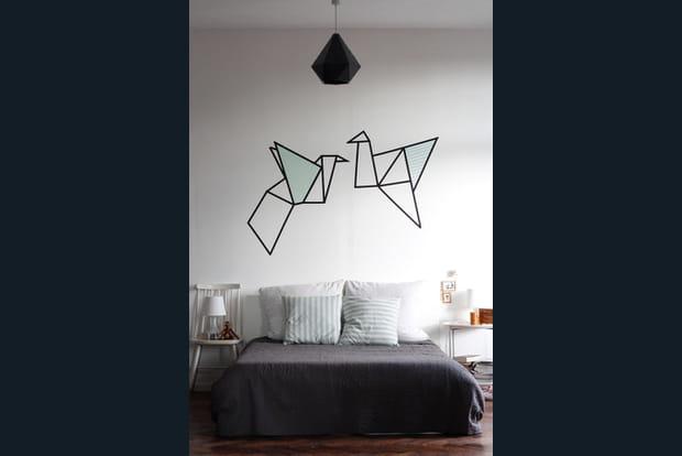 du ruban adh sif d coratif. Black Bedroom Furniture Sets. Home Design Ideas