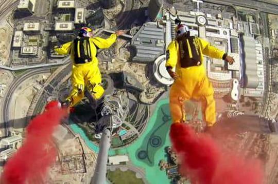 Base Jump: record du monde par deux français