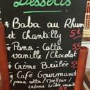 Dessert : Le Raimbaldi  - Carte des desserts -