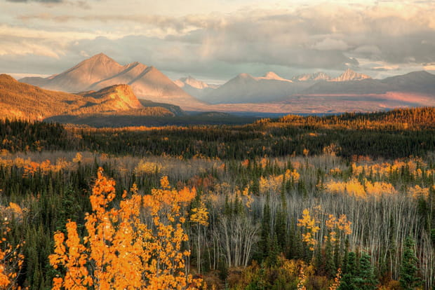 Le mont McKinley, Etats-Unis