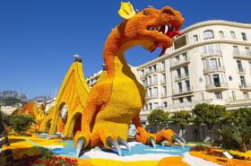 Fête du Citron2019: ses corsi font défiler dragons et lutins