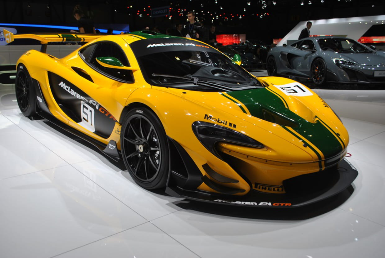 mclaren p1 gtr 1000 chevaux pour tailler la piste. Black Bedroom Furniture Sets. Home Design Ideas