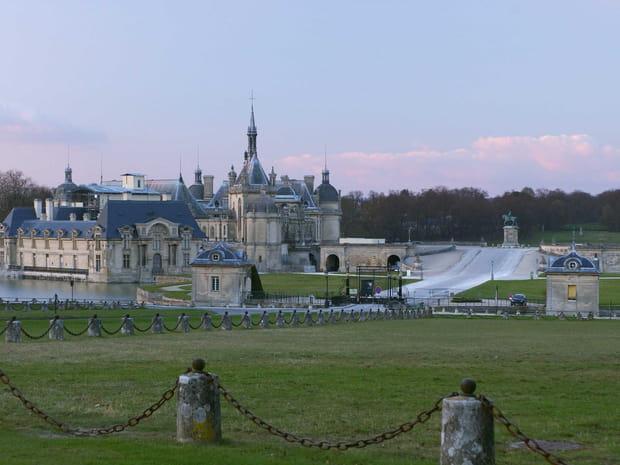 Le Château de Chantilly en images