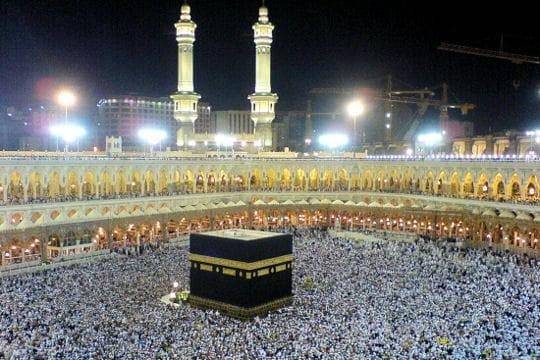 Le cube de La Mecque