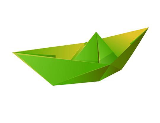 Faire un bateau en papier