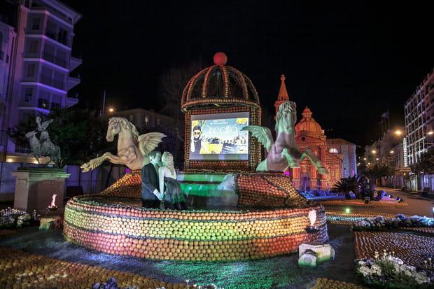 La fête du citron de Menton célèbre Cinecittà