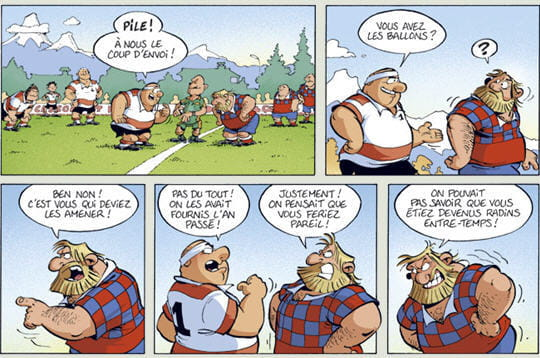 Super Les Rugbymen, une BD à l'humour implacable US09