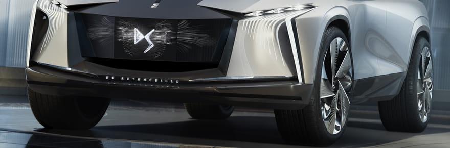 DS Aero Sport Lounge: les photos du nouveau concept de SUV signé DS