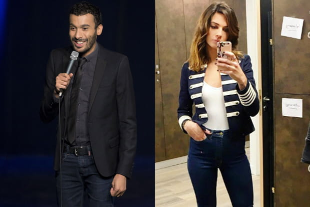 Mustapha El Atrassi et Ornella Fleury, depuis 5ans
