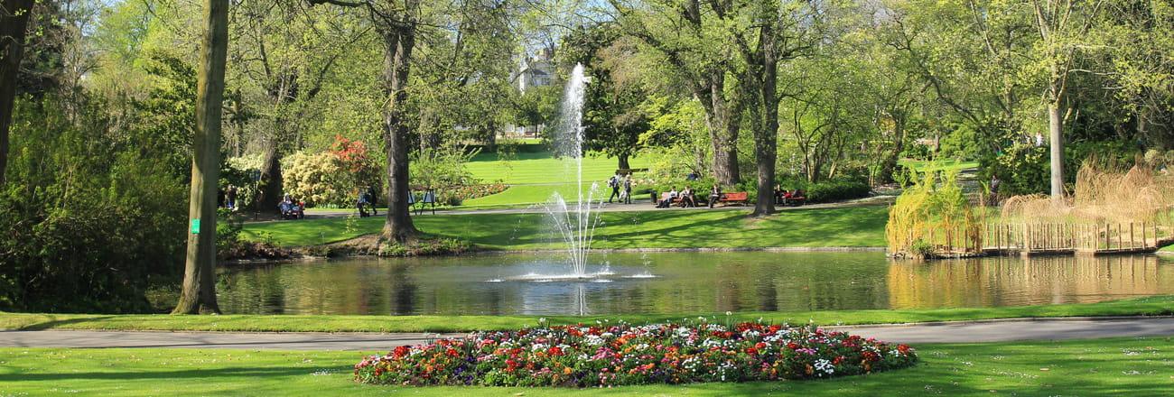 Une pause au vert au cœur de nos villes