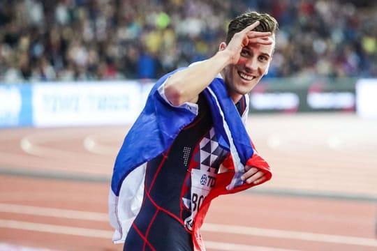 L'improbable interview de Pierre-Ambroise Bosse après sa victoire au 800m