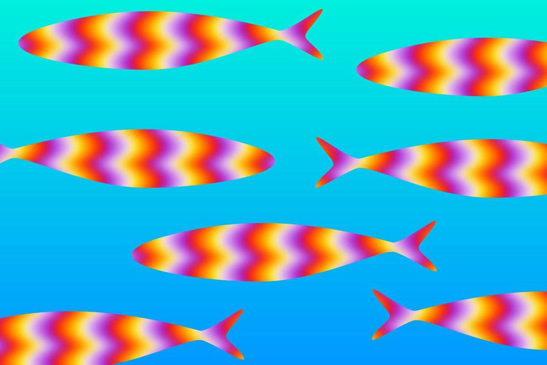 40 illusions d 39 optique incroyables for Effet d optique 3d