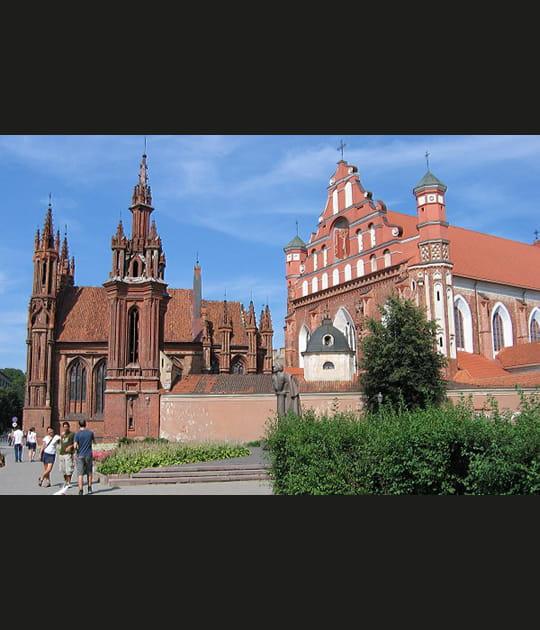 Vilnius, reine de l'architecture religieuse