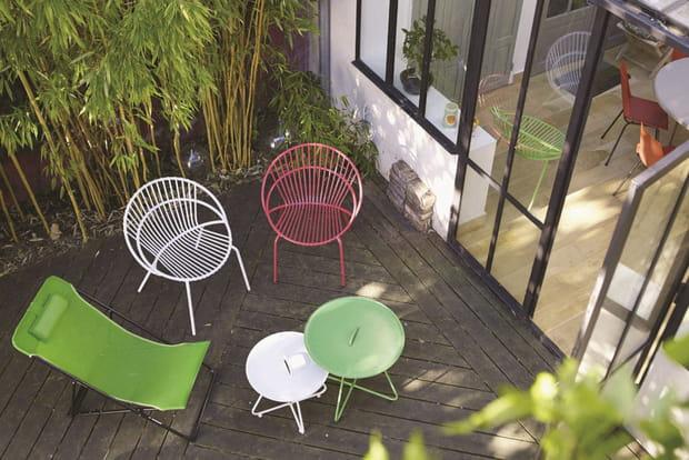 salon de jardin blooma orida avita. Black Bedroom Furniture Sets. Home Design Ideas