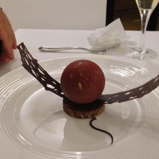Dessert : Restaurant Les 7 Mers  - Fondant chocolat -