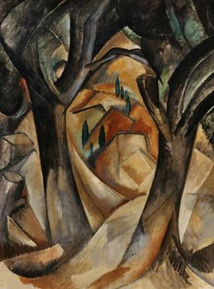 Georges Braque - Arbres à l'Estaque