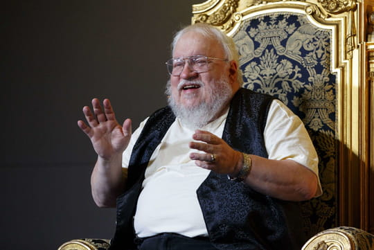 George R.R. Martin (Game of Thrones) se transforme en zombie