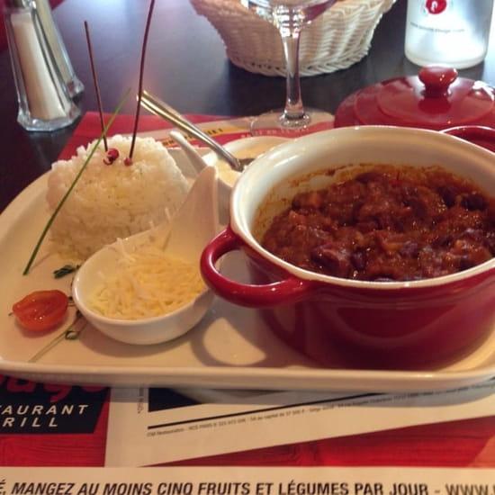 Plat : Poivre Rouge  - Chili Con Carne -