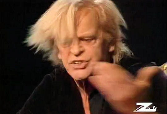 Grosse colère de Klaus Kinski