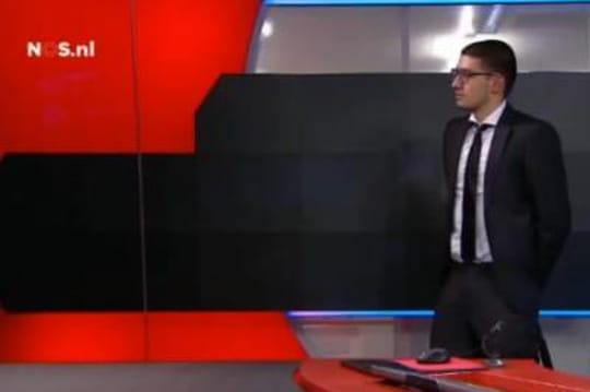 Pays Bas: un homme armé stoppe la diffusion du 20heures [VIDEO]