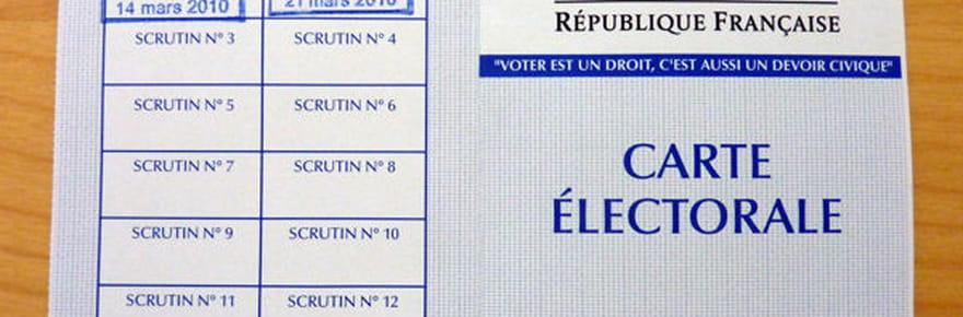 Carte d'électeur : vote, obtention et perte de sa carte électorale