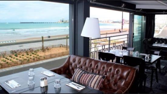 Restaurant : O'mama  - Vu sur mer -