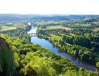 La Dordogne : Du Massif central à la bastide de Domme