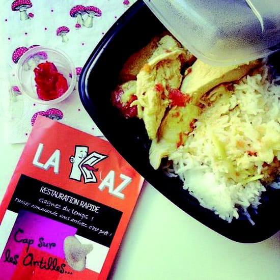 La Kaz  - Poulet coco -   © La kaz