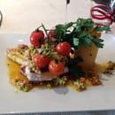 Plat : La cantine du 7  - Cabillaud légumes -