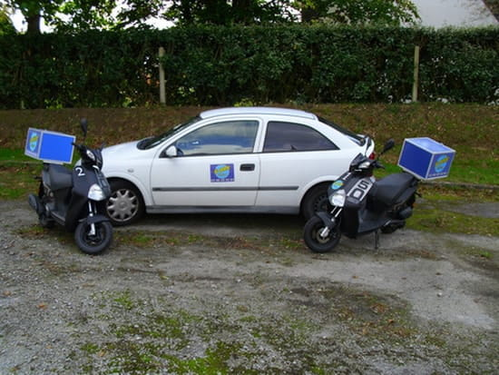 Al Dente  - véhiculesde livraison -