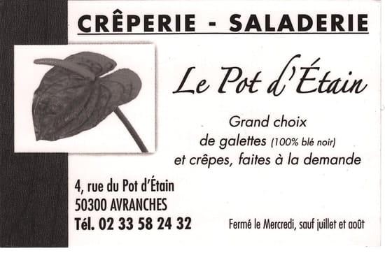 Crêperie du Pot d'Etain