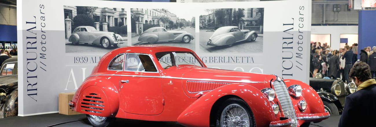 Notre sélection de voitures anciennes à admirer à Rétromobile 2019