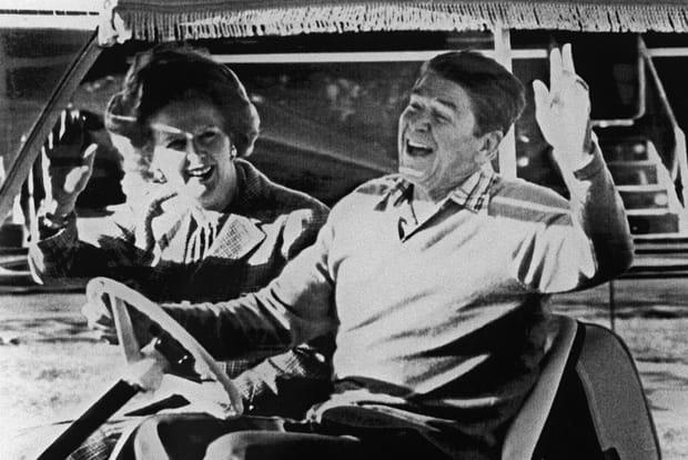 Avec Reagan, la révolution (libérale) en souriant