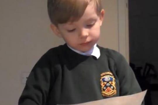 La NASA aide un enfant de 4ans pour son exposé