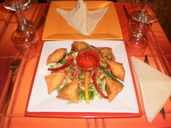 L'Etoile du Noudi Le Mans  - salade de samoussa -   © Mme Guitton