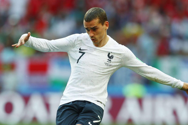 Messi aligné en pointe face aux Bleus — Coupe du Monde