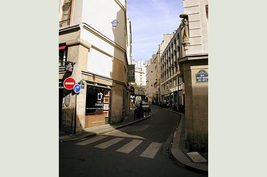 La rue Mazet aujourd'hui