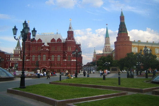 Rue Tverskaya, la plus chère de Moscou