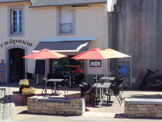 Restaurant : Crêperie La Galette Dorée  - Terrasse La Galette Dorée -